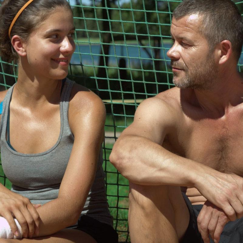 córka trenera